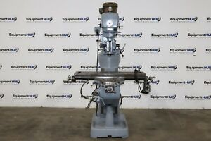 Millport 3vh 2hp Variable Speed Milling Machine W Servo 140 Power Feed