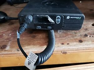 Motorola Mototrbo Xpr 4350 Vhf Two Way Radio Complete With Gps Antenna