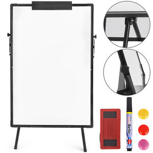 Tripod Single sided Mobile Whiteboard With Stand 36 24 Magnetic Dry Erase Board