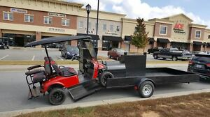 Race Track Bbq Smoker Grill Business Atv Golf Cart Motocross Landscape Trailer