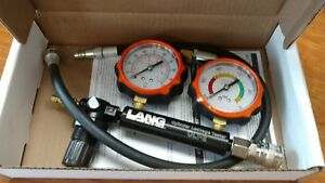 Lang Tools Clt 2 Cylinder Leakage Tester With 2 Gauges 100 Psi New