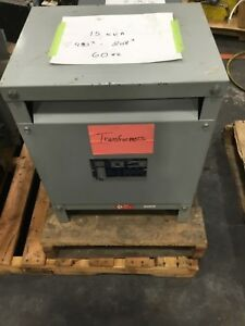 Gs Hevi duty T2h15s Transformer 15kva 3 Phase Series E 480 208 448dk