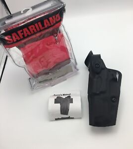 Fits S w M p 45 Safariland 6360 Level 3 Mid ride Als Duty Stx Holster Lh Left