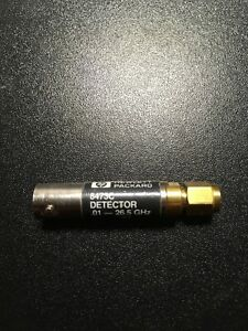 Hp 8473c Diode Detector 10m 26 5ghz