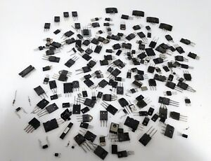 Assorted Transistors And Other Semiconductors