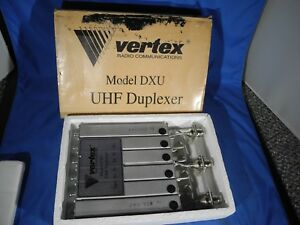 New Vertex Standard Uhf Duplexer Band Reject Mobile Model Dxu Type C
