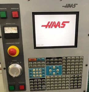 Haas Vf2 Operator Interface Pendant Keyboard Panel Lcd Monitor Mpg With Usb
