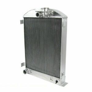 3 Rows Cores Aluminum Radiator For Ford Model a Ford grill shells 1928 1931