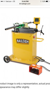 Baileigh Industrial Rdb 250 Tube Bender