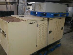 Generac 2000 Enclosed 35kw Natural Gas Generator With Transfer Switch 1484480100