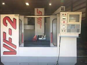 Haas Vf 2 Cnc Vertical Machining Center 4th Axis Ready