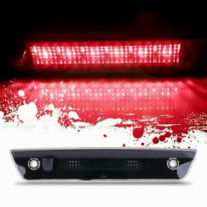 For 2005 2010 Jeep Grand Cherokee Smoke Lens Third 3rd Brake Led Stop Light Lamp