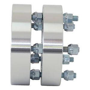 2 Qty 1 25 Inch 5 X 4 75 Wheel Spacers Adapters 12x1 5 Smartpartsco