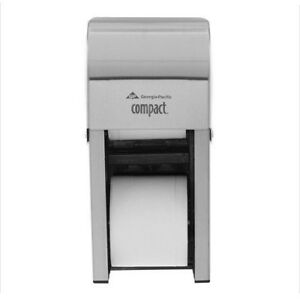Compact 56782 Vertical Stacked Multi roll Toilet Tissue Dispenser Stainless
