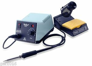 Analog Soldering Iron Station With Power Unit Pencil Stand Sponge 50w Tool Kit