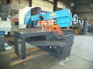 Doall Model C 916sa 9 X 16 Automatic Feed Cut off Band Saw W Swiveling Head
