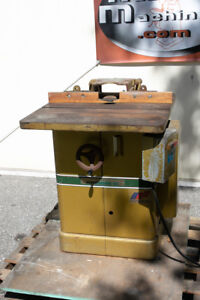 Spindle Shaper In Stock   JM Builder Supply and Equipment Resources