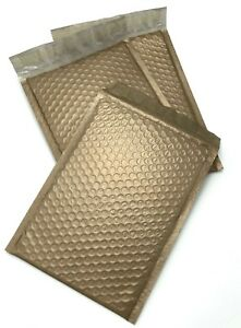 250 0 6x10 Gold Poly Bubble Padded Envelopes Mailers Shipping Case 6 x10