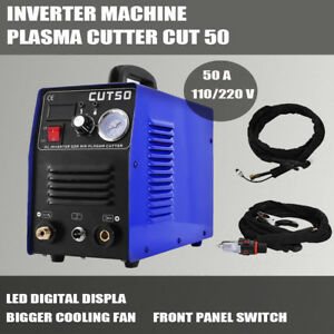 Cut50 Dc Interver Air Plasma Cutter Machine Household 50a 110 220v