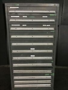 12 Drawer Tool parts Cabinet