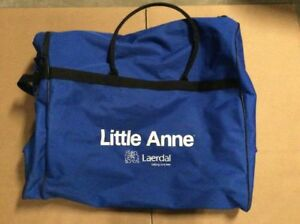 Laerdal Little Anne Cpr Manikin Blue Soft 4 Four Pack Carrying Case Bag Only