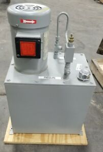 Hydraulic Power Unit 3 4 Hp 3 Phase 12 Gallon shipping Available 3277sr