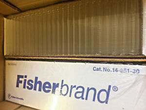 Fisher Disposable Culture Tubes Borosilicate 16x125mm 14 961 30 1000 Case H0818