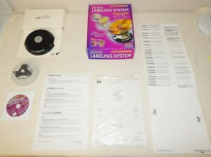 Cd Dvd Stomper Avery Labeling System Pro Edition Labels Hp Bundle