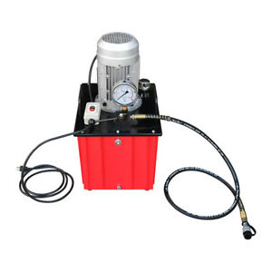 10 000 Psi Electric Hydraulic Pump Single Acting Manual Hand Operated
