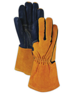 Magid Weldpro Pig Grain Mig Welding Gloves Xl 12 Pairs
