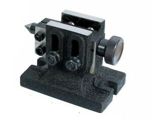 Quality Adjustable Tailstock For Hv4 hv6 Rotary Table lathe Milling metalwork
