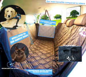 Car Back Seat Cover Hammock Waterproof Pet Dog Cat For Chevy Truck Suv
