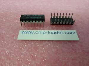 50x Motorola Mc145158p1 ic Pll frequency Synthesis Circuit Cmos Pdip 16
