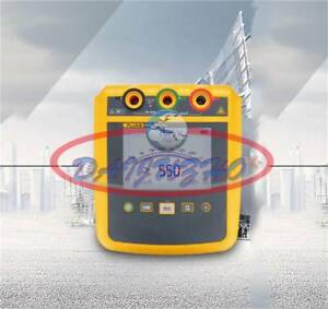 New 1535 Fluke Large Screen High Voltage Insulation Resistance Tester