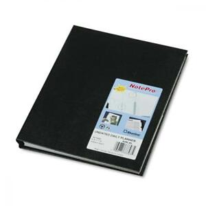 Blueline Notepro Undated Daily Planner 9 1 4 X 7 1 4 Black reda29c81