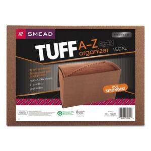Smead Tuff Expanding File Alphabetic a z 21 Pockets Flap And Elastic