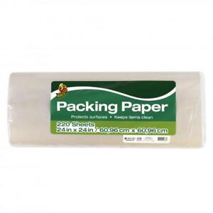 Duck Brand Packing Paper White 220 Sheets 24 In X 24