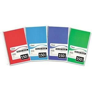 Mead Spiral Bound 3 subjectnotebook Perforated College Rule 9 5 X 5 5