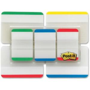 Post it Tabs Value Pack Asst Primary Colors 1 In And 2 Sizes 114 Tabs pack