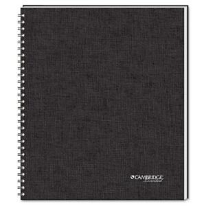 Cambridge Side Bound Guided Business Notebook Quicknotes 11 X 8 1 2 80