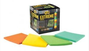 Post it Extreme Notes 12 Pack 3 In X 3 In Orange Green Yellow Mint