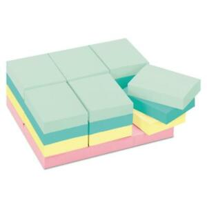 Post it Notes Original Pads In Marseille Colors Value Pack 1 1 2 X 2