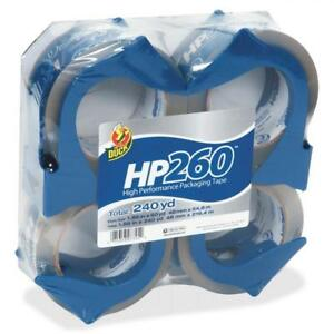 Duck Hp260 Packaging Tape 1 88 In X 60 Yd Clear 4 count