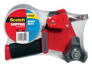Scotch Heavy Duty Shipping Packaging Tape Dispenser 1 88 In X 60 Yd Per