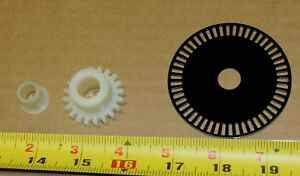 Fastcorp 631 Ice Cream Vending Machine Replacement Gear Hub Encoder Disc New
