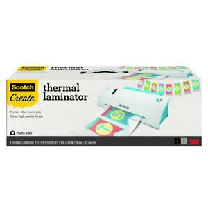 Scotch Craft Thermal Laminator 9in Input 3 And 5 Millimeter Pouch