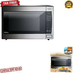 Panasonic Foot Convection Microwave Oven 1250w Kitchen Led Lighting During Cook