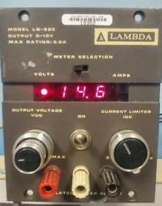 Lambda Lq 520 0 10vdc Power Supply Lq series 5 0 Amp Max Quantity