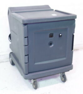 Used Cambro Cmbh1826l Camtherm Low Profile Electric Hot Cart Gray