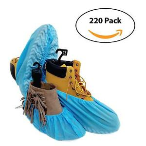 220 Premium Disposable Boot Shoe Covers By Pedashield Booties Are Large
